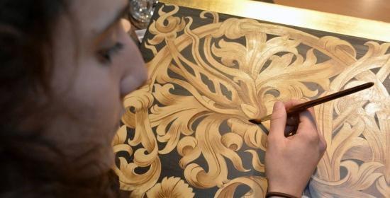 Seit dem 1.10.2014 gibt es eine neue Sparte bei uns im Betrieb und zwar den Bereich Kirchenmalerei/Restaurierung.
